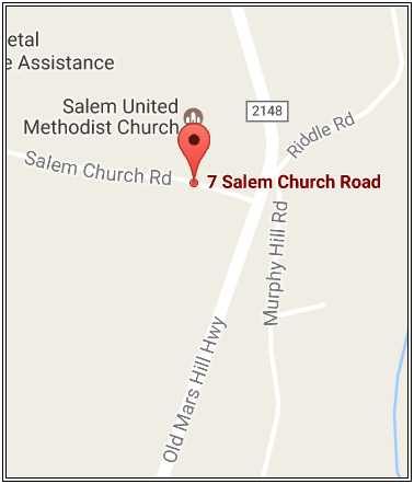 services salem united methodist church weaverville nc